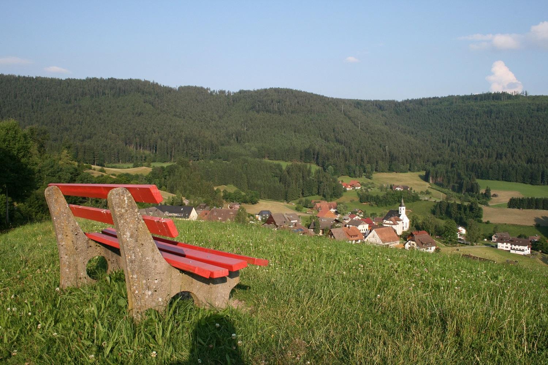 Blick auf Schwarzenberg